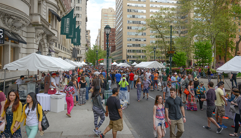 The Rittenhouse Row Festival |Photo via Rittenhouse Row