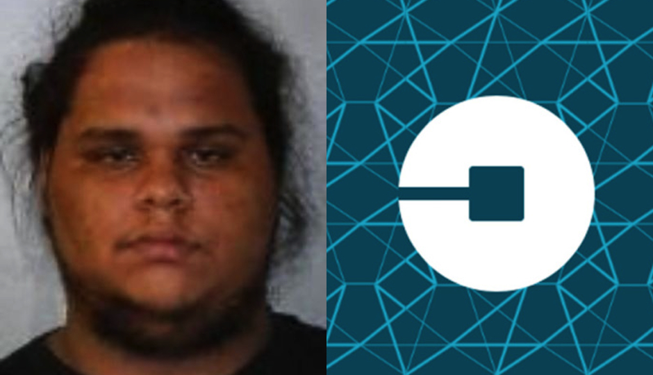 The passenger-turned-driver Juan Carlos (left) has been charged. The sleepy UberX driver is not currently facing charges.