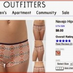 "An old screenshot showing one of the Urban Outfitters ""Navajo"" items in question. The site no longer sells anything bearing the name ""Navajo."""