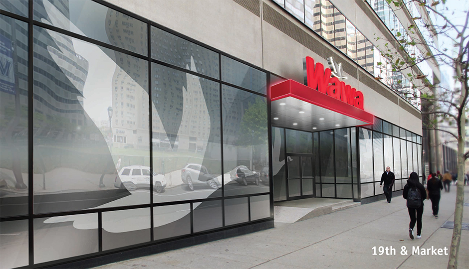Wawa - 19th and Market - rendering