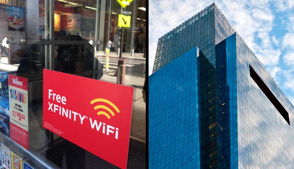 Comcast Tower via iStockphoto.com