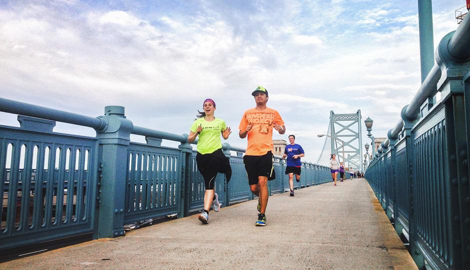Yards Bridge Run and Happy Hour | Photo via Facebook