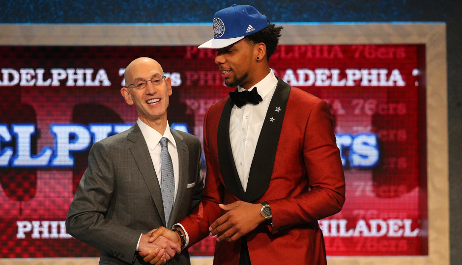 The Sixers selected Jahlil Okafor third overall in the 2015 NBA draft | Brad Penner-USA TODAY Sports