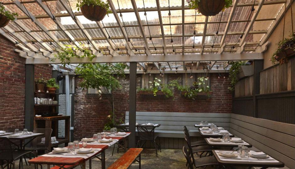 Hidden Outdoor Dining Spots in Philly