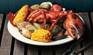Lobster bake at Quahog's Seafood Shack, Stone Harbor | Photo by Jason Varney