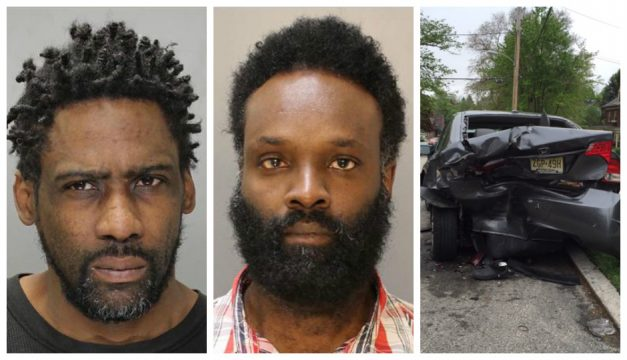 Desmond Abernathy (left) and Curt Joseph (middle) charged in Southwest Philly shooting; Aftermath of Overbrook shooting (right)