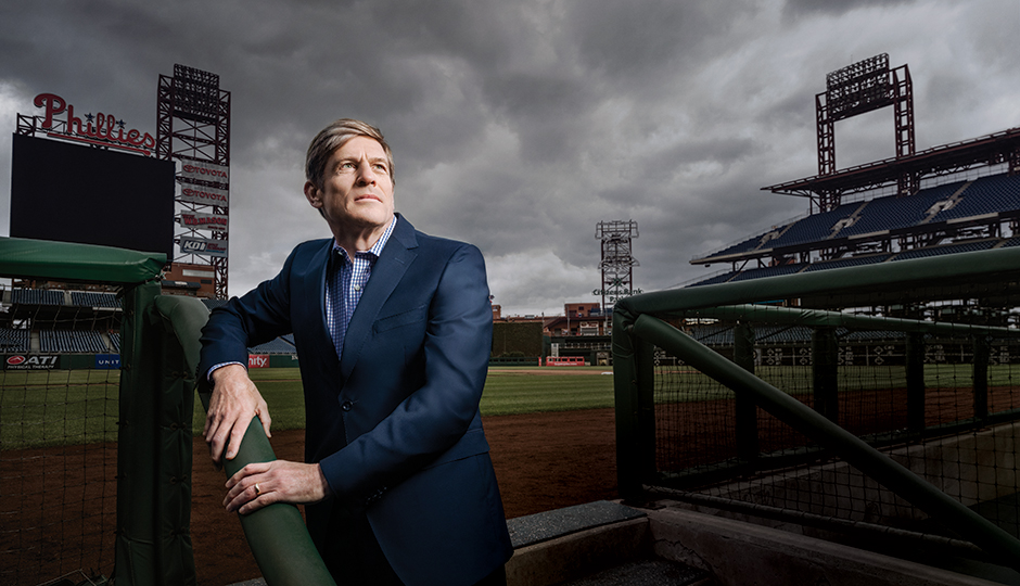 Phillies owner John Middleton | Photograph by Chris Crisman