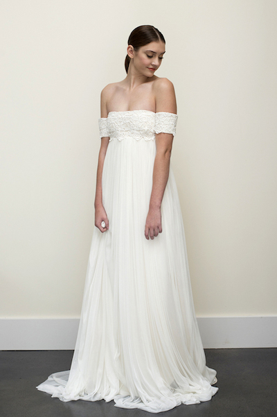 The Wilde gown by Elizabeth Dye