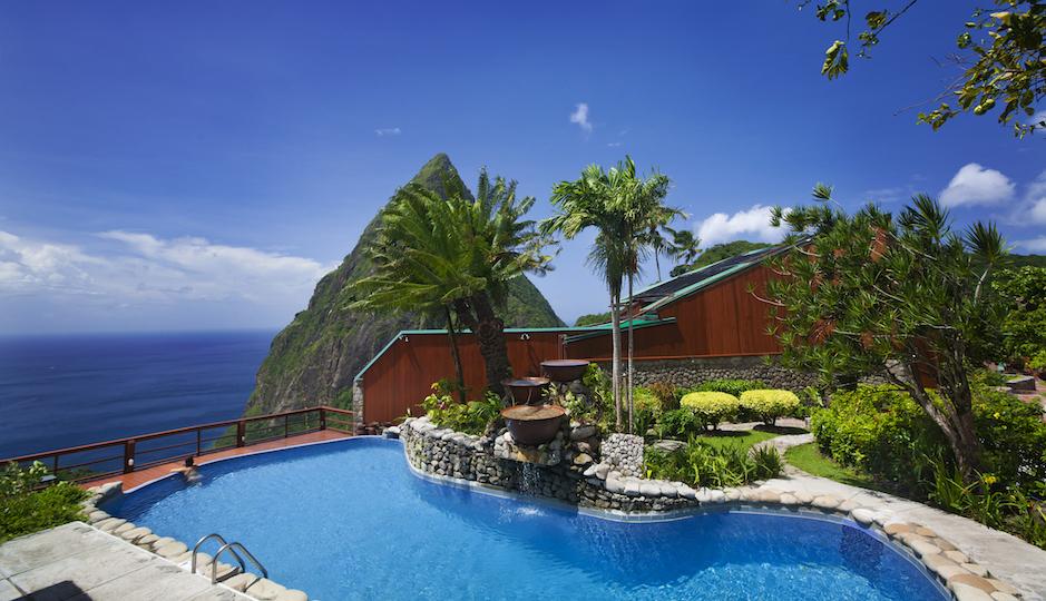 Hop a flight to St. Lucia's Ladera Resort. Facebook.com/LaderaResort