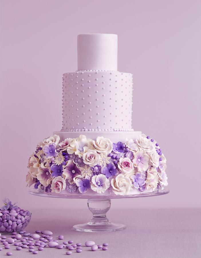 PW-lavender cake