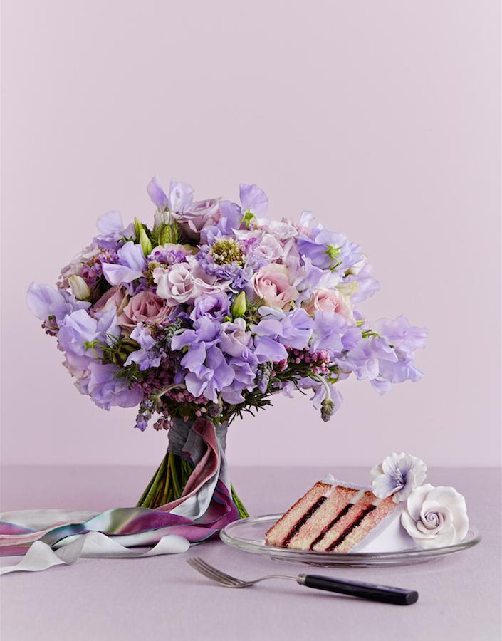 PW-lavender flowers