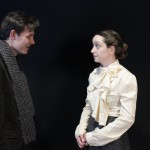 Harry Watermeier and Victoria Rose Bonito in Plough and the Stars at Irish Heritage Theatre. (Photo by Jim Guckin)
