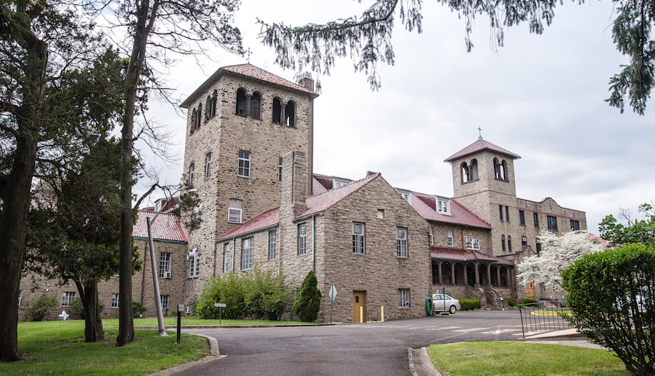 The Sisters of the Blessed Sacrament will sell their motherhouse compound in Bensalem (above) and land it owns in Virginia to support its mission and its aging congregation. Photo | Sisters of the Blessed Sacrament