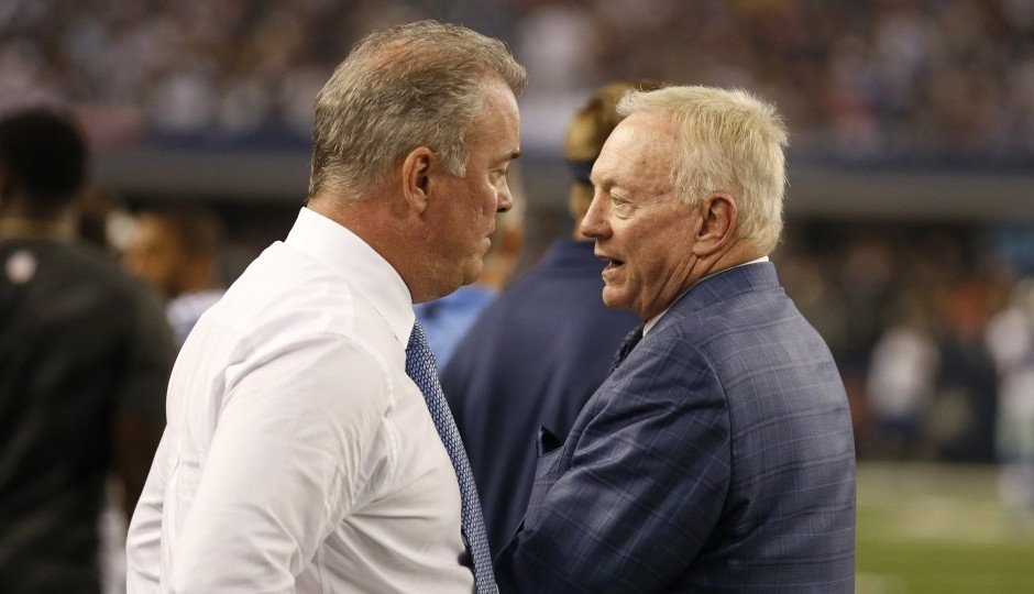 Jerry and Stephen Jones (USA Today Sports)