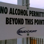 Atlantic City beach bar sign