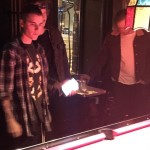Justin Bieber at Johnny Brenda's
