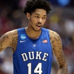 Should the Sixers draft Brandon Ingram because of their need for perimeter shooting? | Robert Hanashiro-USA TODAY Sports