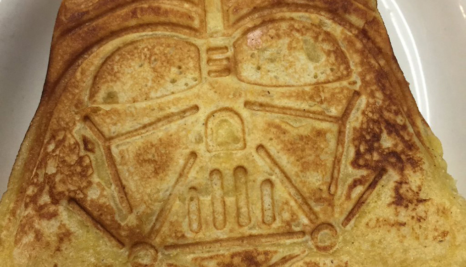Cedar Point is offering Darth cheddar waffle grilled cheese served with yoda soup.