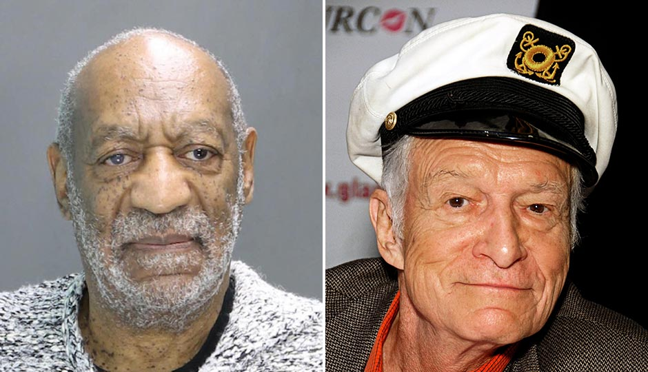 Bill Cosby arrest photo. Hugh Hefner, By Toglenn via CC BY-SA 3.0, https://commons.wikimedia.org/w/index.php?curid=12656003