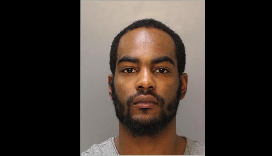 Escaped prisoner Khalil Robinson in a Philadelphia Police Department photo.