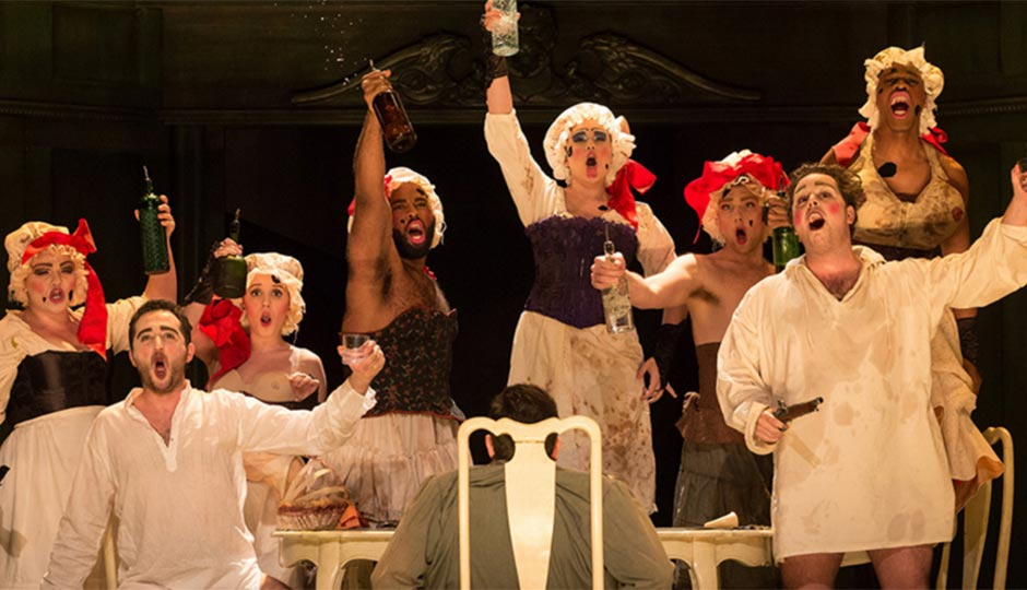 """The Curtis Opera Theatre's production of Mozart's """"Le Nozze di Figaro"""""""