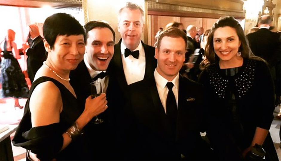Ellen Yin, Alex Bois, Eli Kulp and Marisa Kulp | Photo via Fork