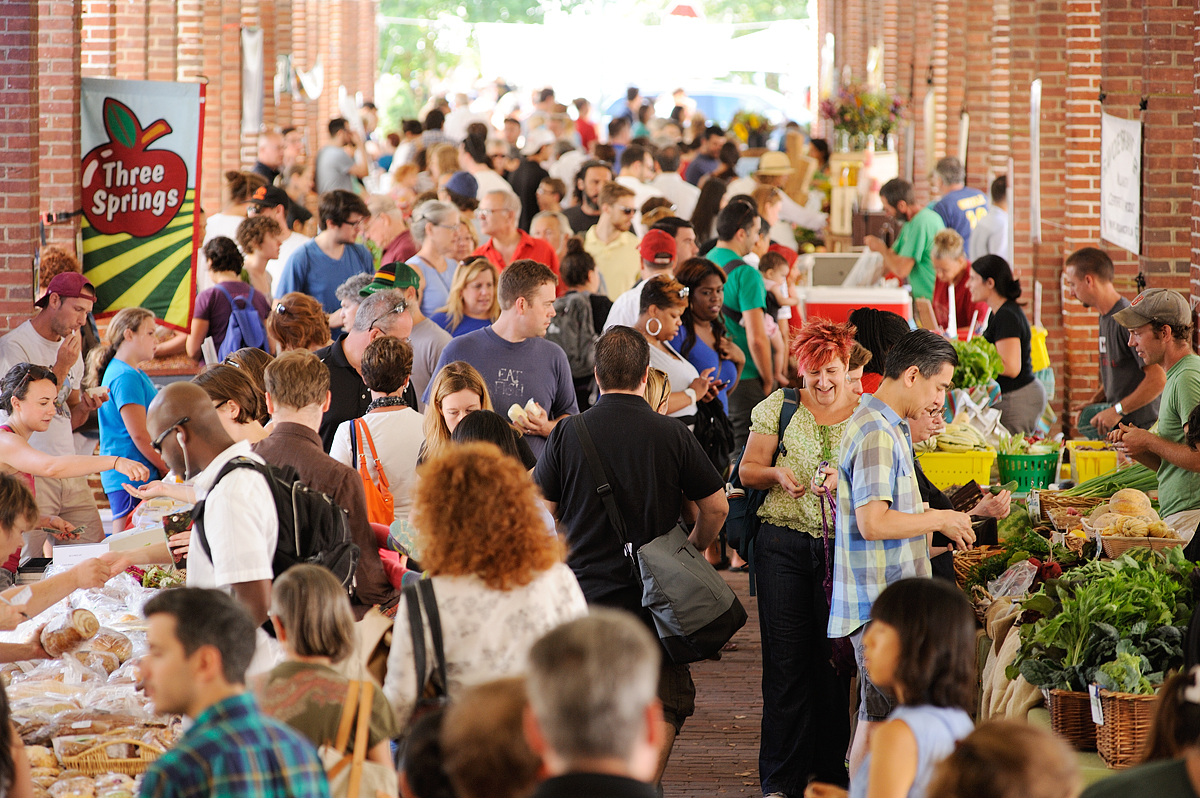 Headhouse Square Farmers Market for The Food Trust September 7, 2014