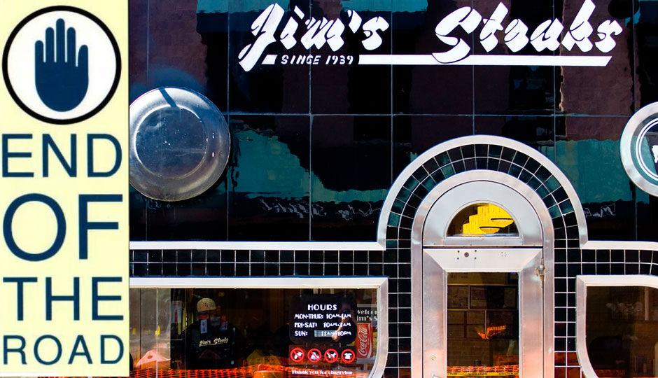 Jim's Steaks photo by Jeff Fusco