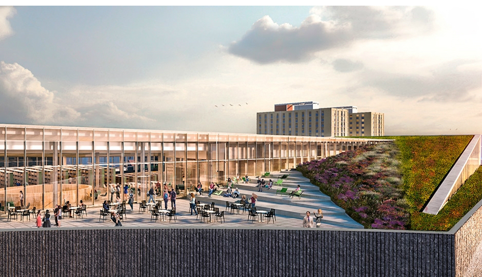 New Temple Library To Get Huge Green Roof Philadelphia