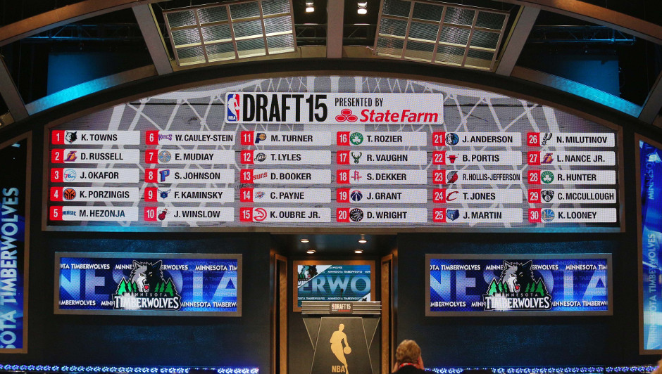 Results from the 2015 NBA draft | Brad Penner-USA TODAY Sports