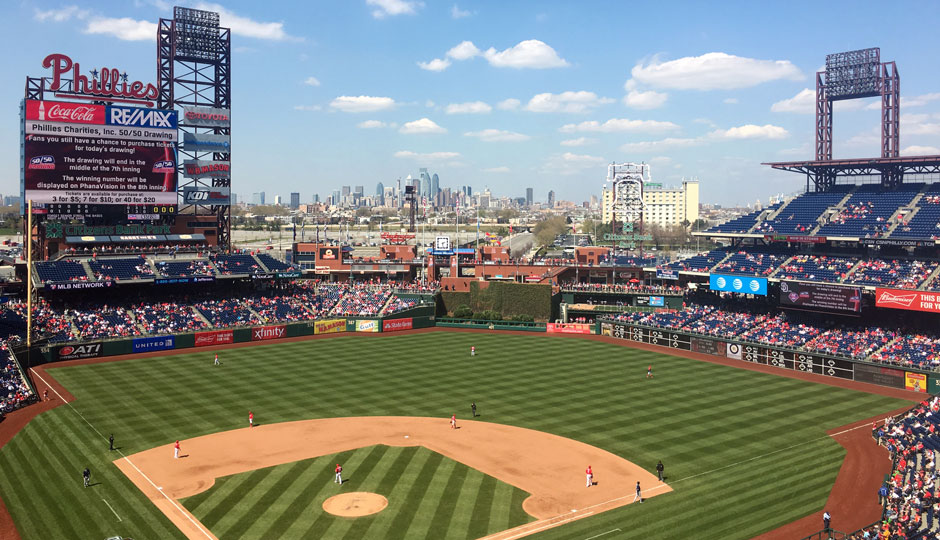 Citizens Bank Park - April 2016