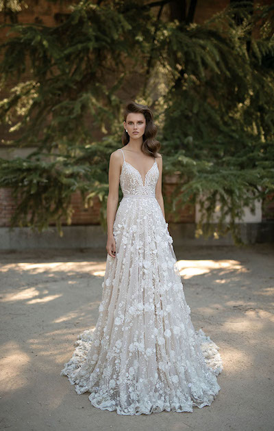 We love this embellished Berta gown.