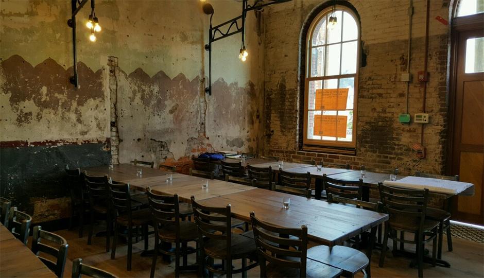 Saint Benjamin Brewing's Tap Room | Photo by Kelly Alderfer