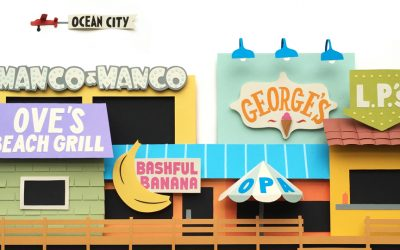 The Best Food on the Ocean City Boardwalk | Illustration by Melissa McFeeters