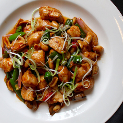 Kung Pao Chicken at SuGa | Photo by Emily Teel