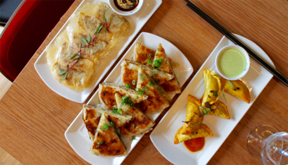 Dumplings and Scallion Pancakes at SuGa | Photo by Emily Teel