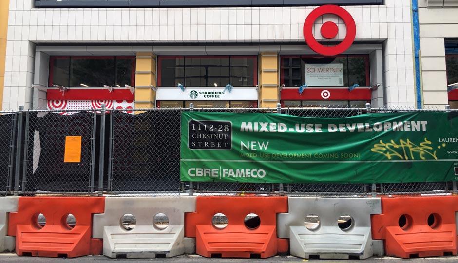 Target - Washington Square West - under construction