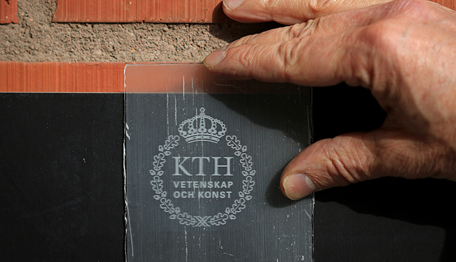 By combining wood that has been stripped of its coloring agent with an acrylic polymer, researchers in Sweden have created a material that combines the versatility of glass with the strength of wood. Now to get the cost curve down. | Photo: Peter Larsson | KTH Royal Institute of Technology
