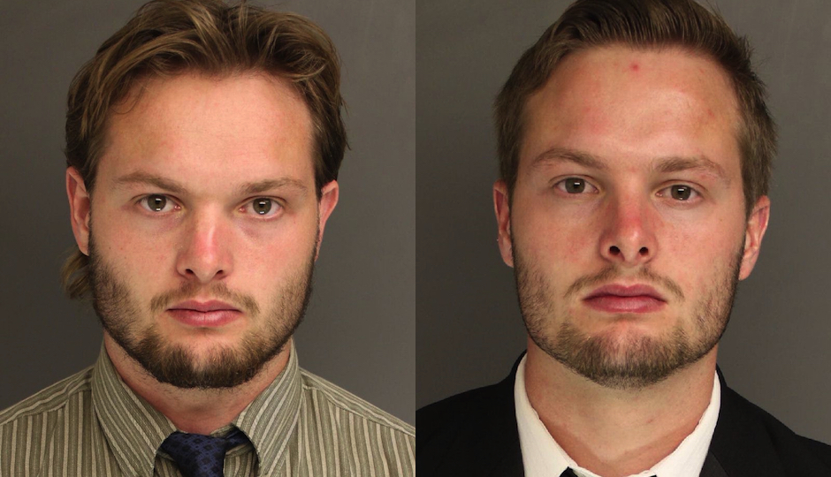 Caleb and Daniel Tate in photos released by the Chester County district attorney.