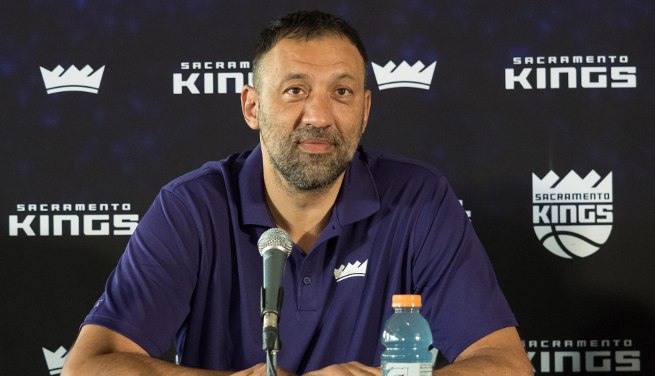 Vlade Divac, vice president of basketball operations and general manager of the Sacramento Kings | Kelley L Cox-USA TODAY Sports