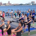 Yoga on the Pier | Photo via Facebook