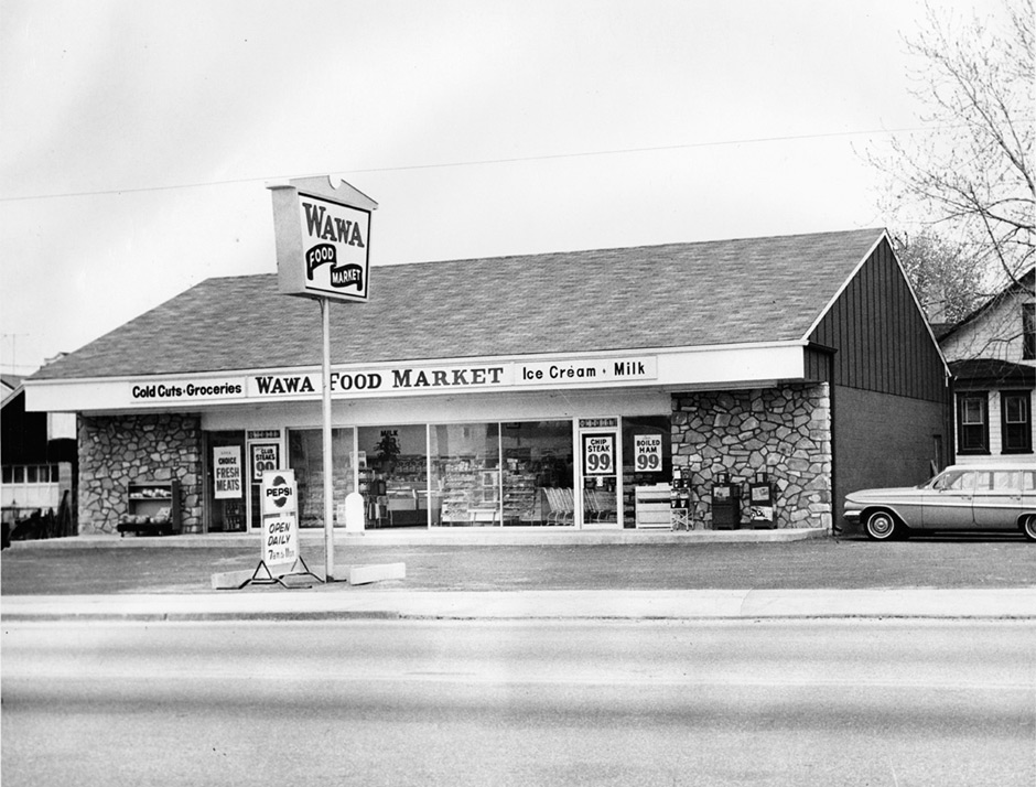 The first Wawa store. | AP photo courtesy of Wawa Inc.