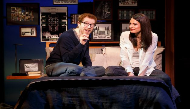 Anthony Rapp and Jackie Burns in If/Then. Photo by Joan Marcus