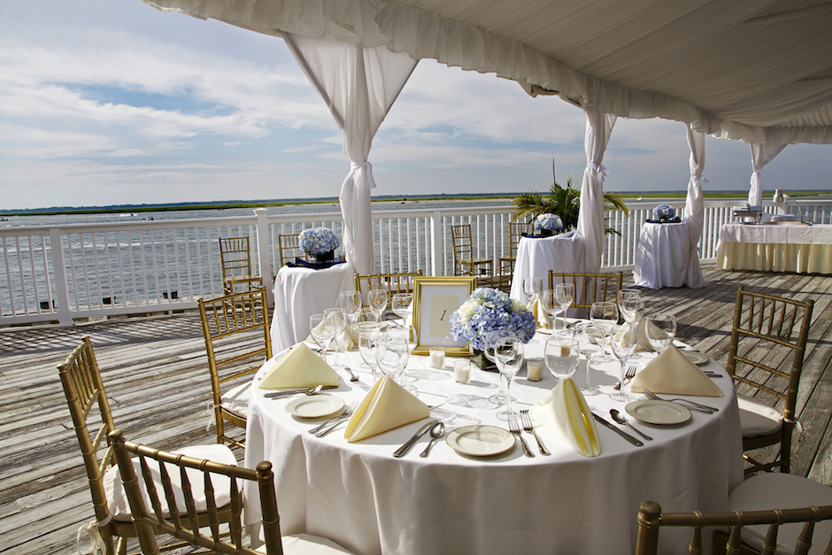 Best Jersey Shore Wedding Venues: Avalon Yacht Club.