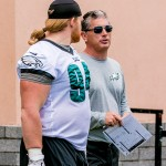 Beau Allen and Jim Schwartz. (Jeff Fusco)