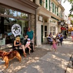 Distinctive shops like Bone Appetite have led a new generation of fans of urban life to discover the joys of Chestnut Hill. The road to today began with the Starbucks right next door. | Photo courtesy Chestnut Hill Business Improvement District