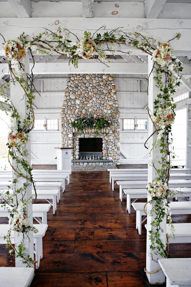 Best Jersey Shore Wedding Venues:: Bonnet Island Estate. Photo by Marie Labbancz.