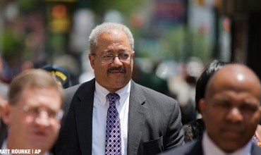 Rep. Chaka Fattah, D-Pa., leaves the federal courthouse in Philadelphia, Tuesday, June 21, 2016.