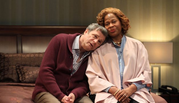 John Procaccino and Alice M. Gatling in Hillary and Clinton at PTC. (Photo by Paola Nogueras)