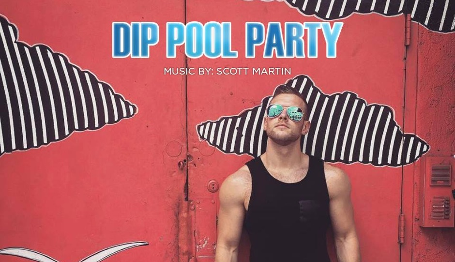 DIP Pool Party features music by Scott Martin.